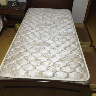 Twin Bed Frame And Mattress X 2