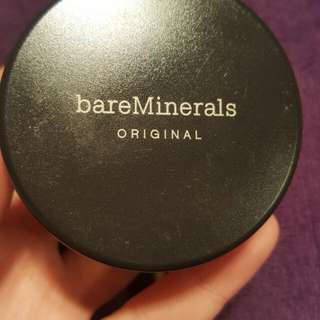 Bare Minerals Mineral Foundation In Medium Beige