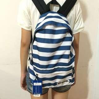 海軍藍條紋後背包OUTDOOR