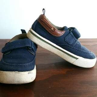 Boy Sneaker/shoes Navy Blue Size7