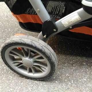 雙人推車 Contours Options Tangerine