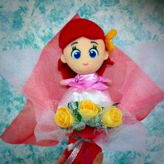 a1bbe2416 💝[Authentic Disney Japan]💐 Disney Princess Plush Bouquet Collection / By  Disney Japan