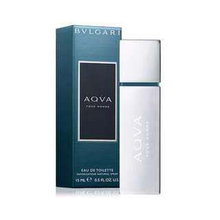 BVLGARI 寶格麗 AQVA水能量男性淡香水(噴式)15ml