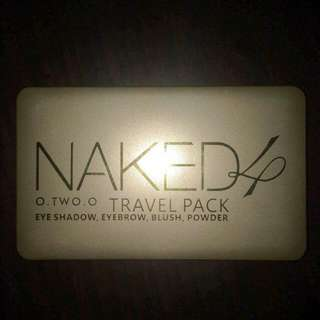 Naked4 Travel Pack