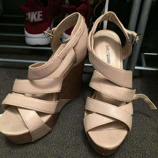 size 8 wedges