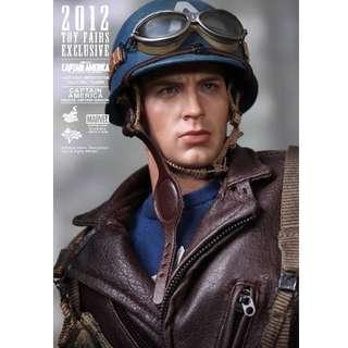 2012 Toy Fair Exclusive MMS 180: Captain Amercia (Rescue Uniform Version)