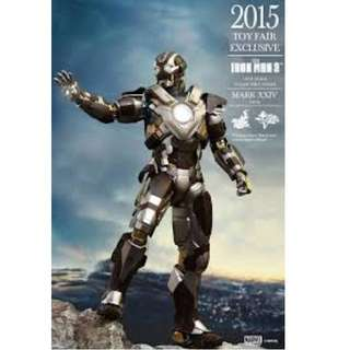 2015 Toy Fair Exclusive - HOT TOYS MMS 303 IRON MAN 3 – MARK XXIV TANK