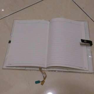 格綾紋筆記本