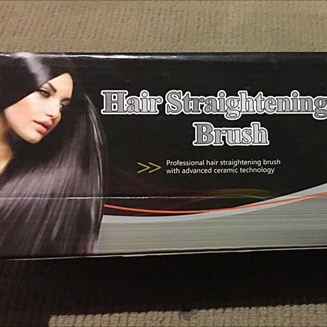 ActiveHair Straightening Brush