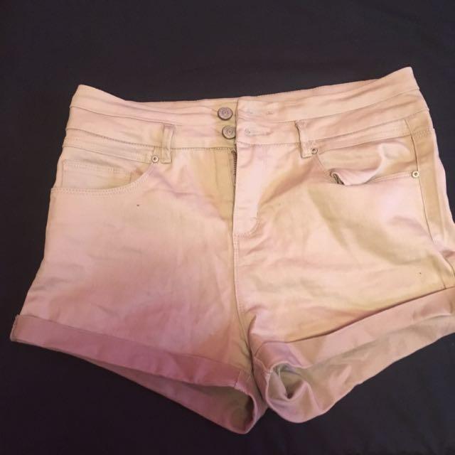 Ardene's High Waisted Shorts
