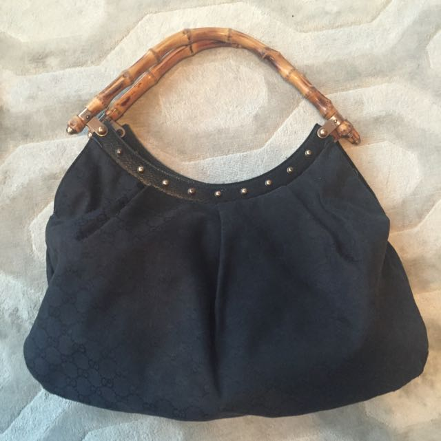 Authentic Gucci Hobo Bag. Bamboo Straps