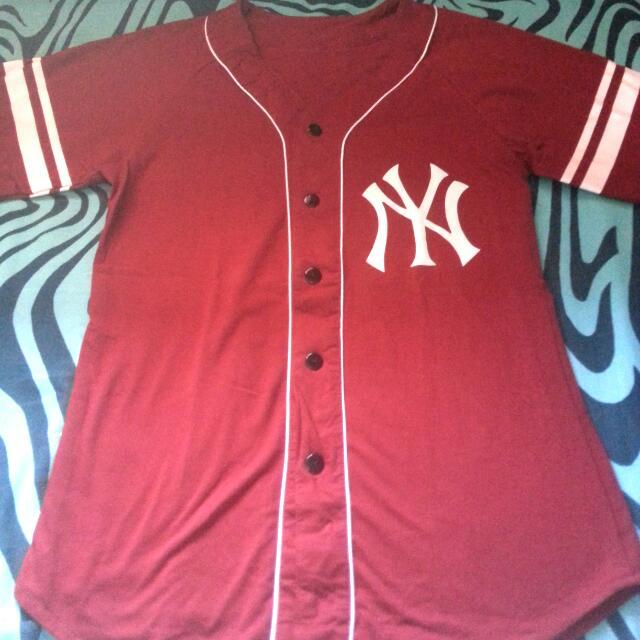 Baseball Tee Red