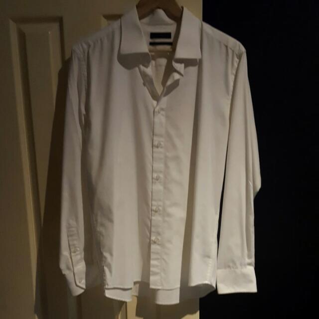 Blaq Size Large White Shirt