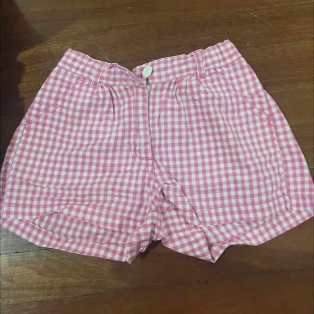 Bossini Shorts Checkered