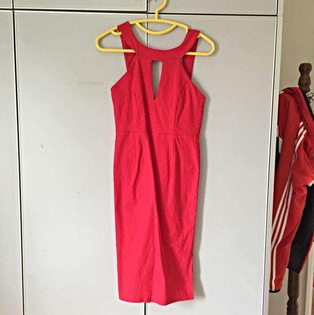 BRAND NEW Aus Brand Red Dress