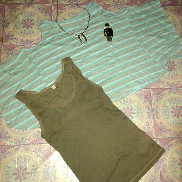 Crop Top With Sleeveless