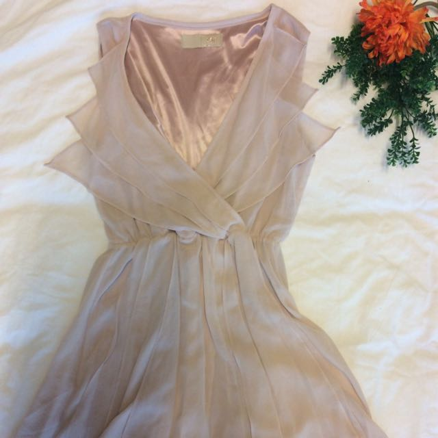 Dress Pink/nude Size s