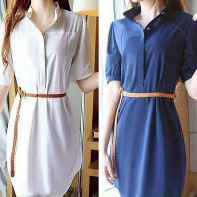 Dress W/ Belt