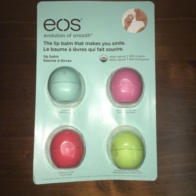 Eos Lip Balm Spheres