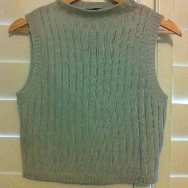 PENDING - High-Neck Knit Top