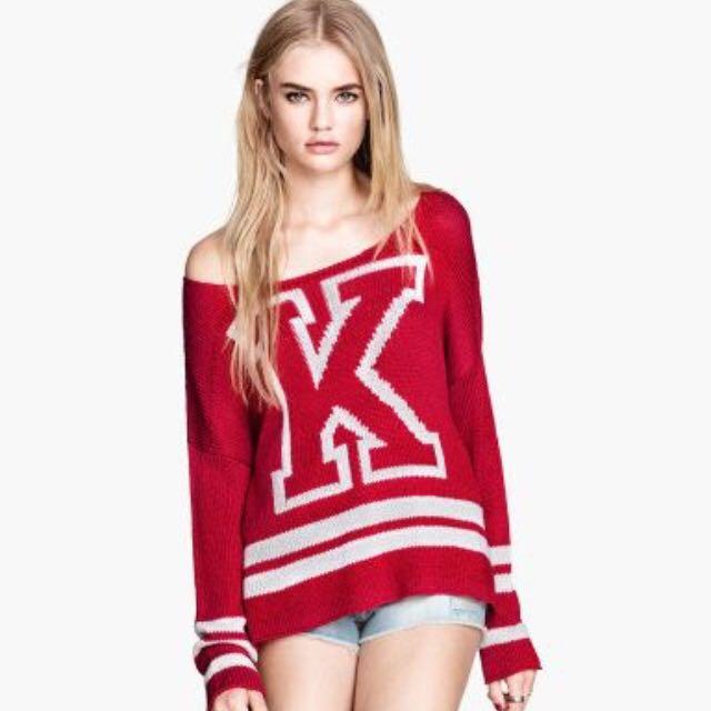 H&M Varsity Sweater