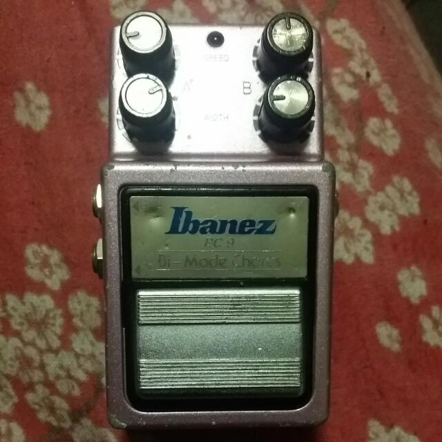 REDUCED Ibanez BC 9 Bi-Mode Chorus Pedal