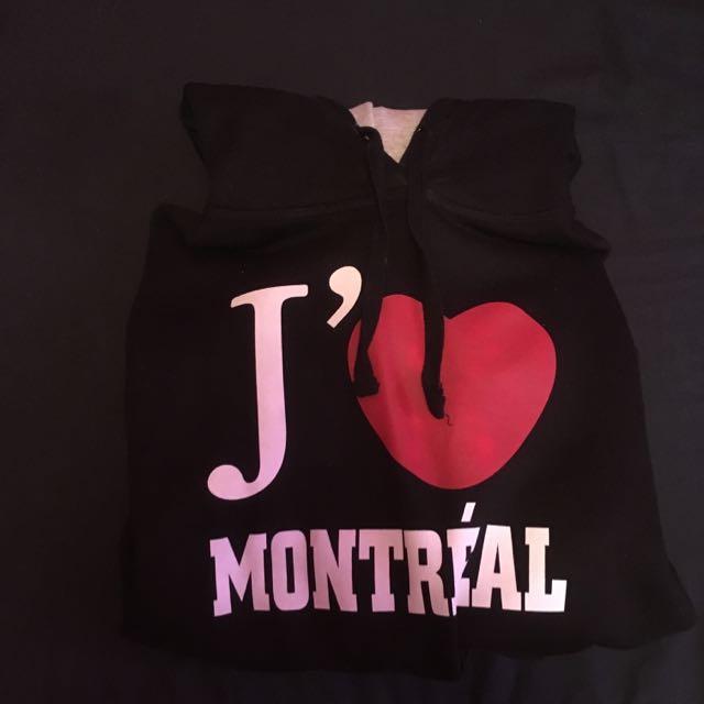 J'aime Montréal Women's Hoodie