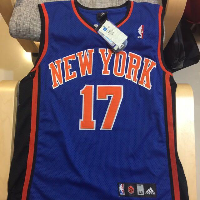 Jeremy Lin NBA林書豪 紐約尼克隊球衣Adidas AU 48