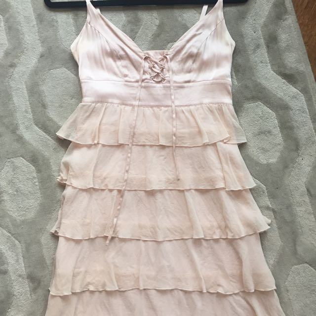 Marciano Blush 100% Silk Dress
