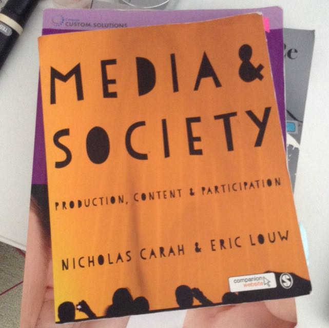 Media & Society Production, Content & Participation