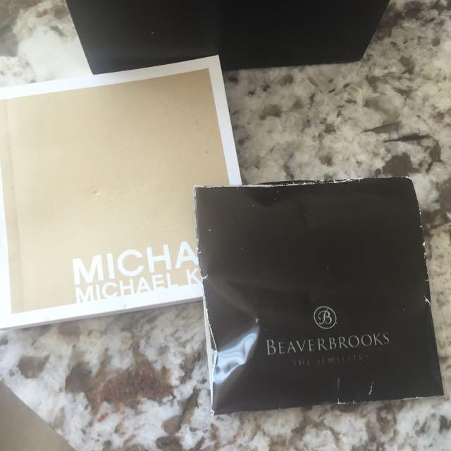 Michael Kors Women's Blair Rose Gold Stainless Steel Chronograph Watch