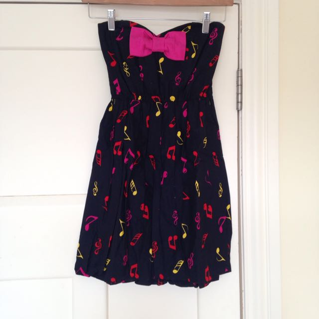 Music Notes Dress