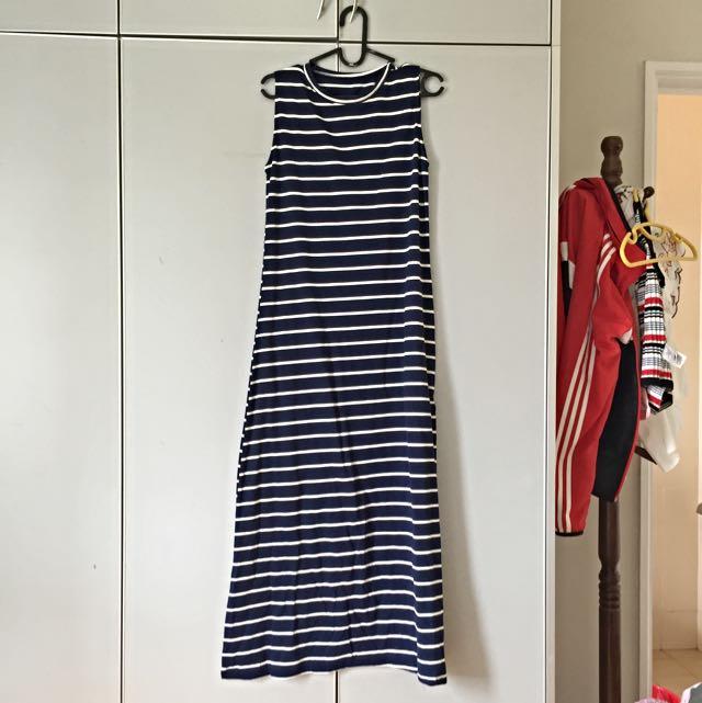 NEW Maxi Striped Dress