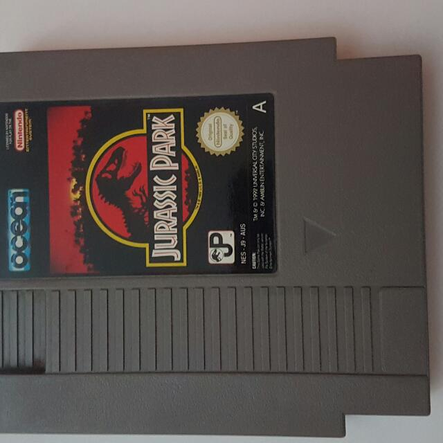 Original Nes Jurassic Park Nintendo