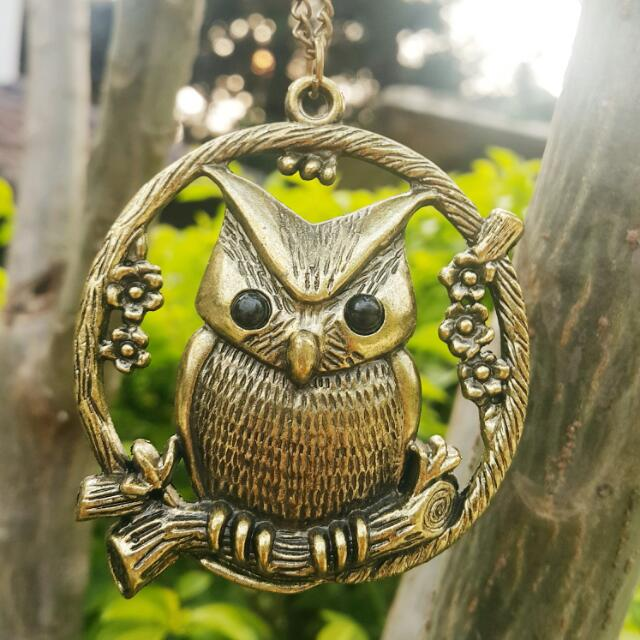 Owl Metal Accessory