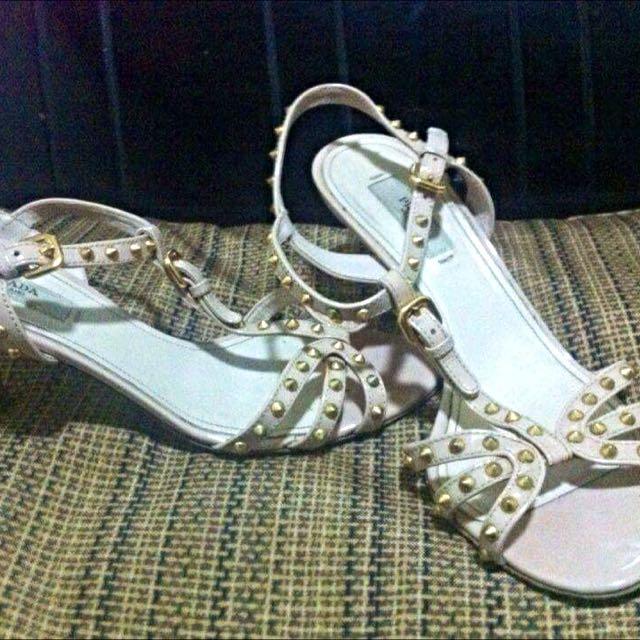 PRADA studded sandals