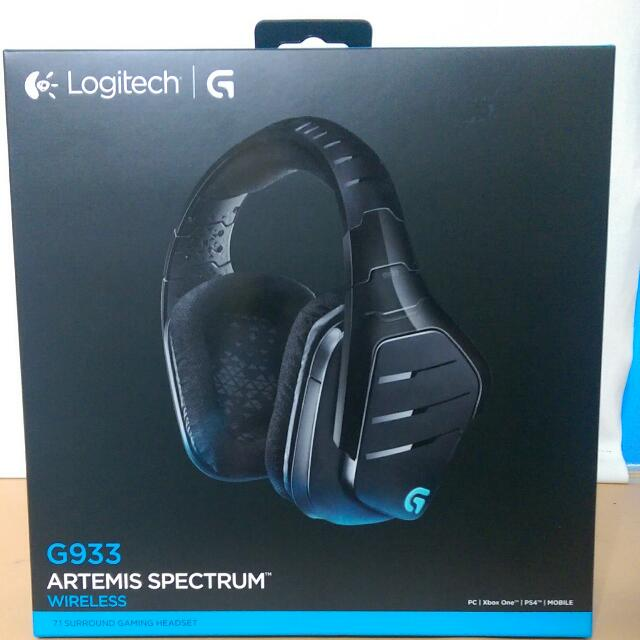 0d12c58714a URGENT* 2016 LIKE NEW Logitech G933 Artemis Spectrum Wireless 7.1 ...