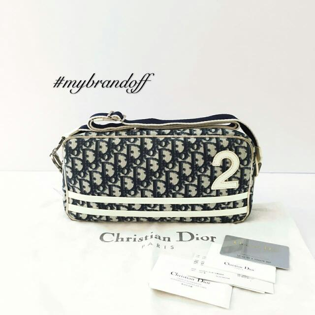 8224da2443b8 RM750 ONLY Preowned Christian Dior No2. Sling Bag