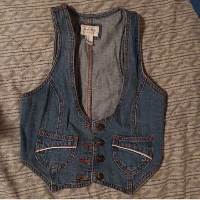 Short Vest From Forever 21
