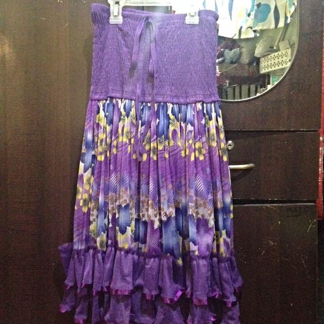 Violet Skirt/Dress