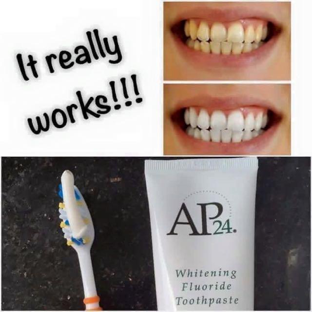 Whitening Toothpaste AP24