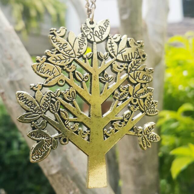 Yellow Tree Accessory
