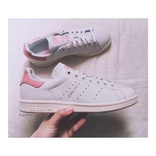 [國外代購] Adidas Stan Smith 粉紅 奶油底 麂皮