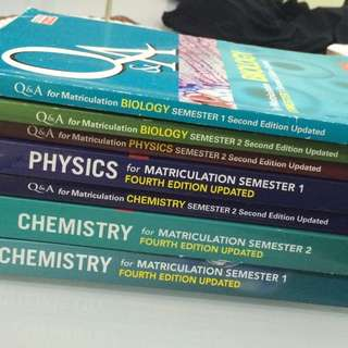 MATRICULATION REFERENCE BOOK