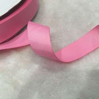 2.5cm Good Quality Grosgrain Ribbon- 4 colours To Choose