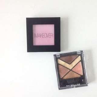 Maybelline Eyeshadow Palette & Makeover Blusher