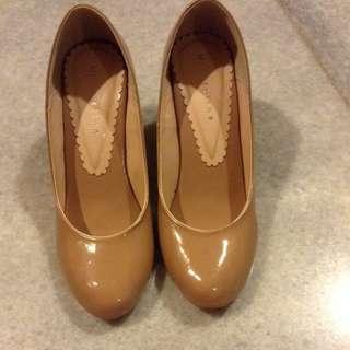 jual murah sepatu nude 38