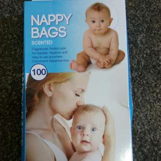 Scented Nappy Bags (100 Pc.)
