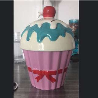 Large Cupcake Canister