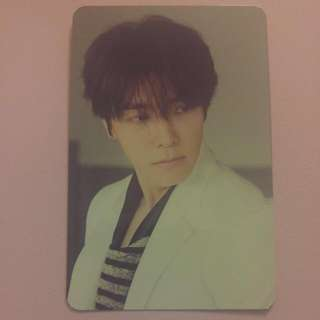 Super Junior Donghae D&E The Beat Goes On Special Edition Photocard
